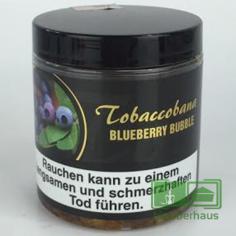 Tobaccobana Blueberry Bubble 150g